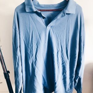 vintage oversized polo top!